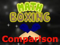 Comparison Math Boxing