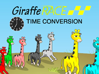 Giraffe Race Time Conversion