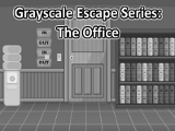 Grayscale Escape Office