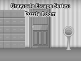 Grayscale Escape Puzzle Room