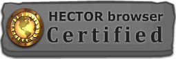 HECTOR browser Certified Website