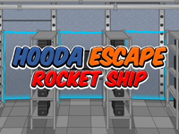Hooda Escape Rocket Ship
