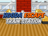 Hooda Escape Train Station