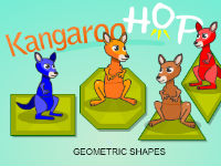 Kangaroo Hop Geometric Shapes