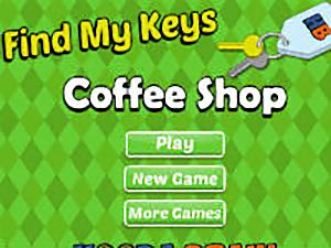 Find My Keys Coffee Shop