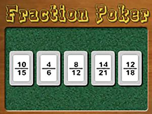Fraction Poker