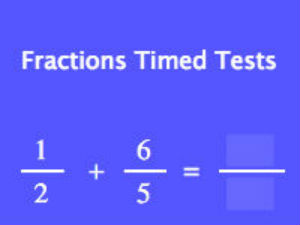 Fractions Timed Tests