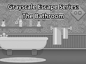 Grayscale Escape Bathroom