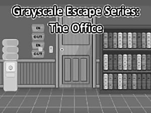 Grayscale Escape Office