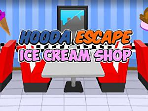 Hooda Escape Ice Cream Shop