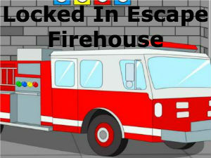 Locked In Escape Firehouse