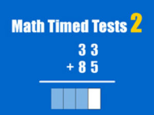 Math Timed Tests 2