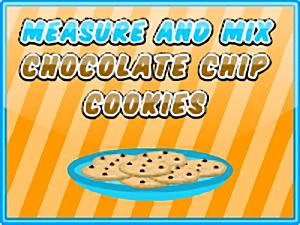 Measure and Mix Chocolate Chip Cookies