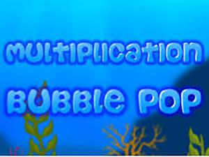 Multiplication Bubble Pop