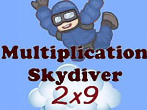 Multiplication Skydiver