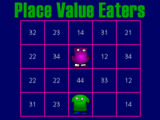Place Value Eaters