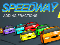 Speedway Adding Fractions