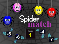 Spider Match Adding Integers