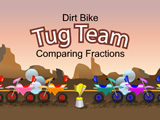 Tug Team Dirt Bike Fractions