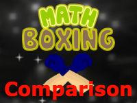 Comparison Math Boxing