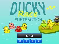 Ducky Race Subtraction