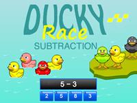 Ducky Race Subtraction
