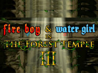 fire boy and water girl Forest Temple 3