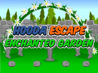 Hooda Escape Enchanted Garden