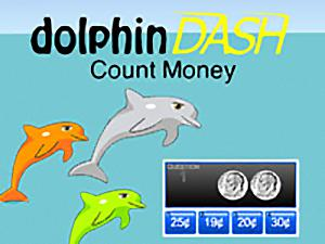 Dolphin Dash Count Money