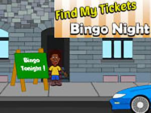 Find My Tickets Bingo Night