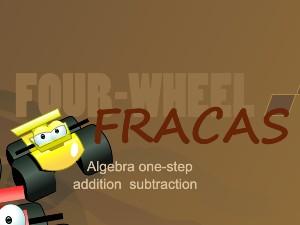 Four Wheel Fracas