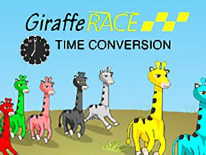 Giraffe Race Time Conversion