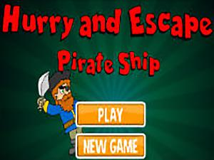 Hurry and Escape The Pirate Ship