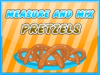 Measure and Mix Pretzels