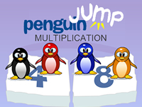 Penguin Jump Multiplication