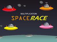 Space Race Multiplication